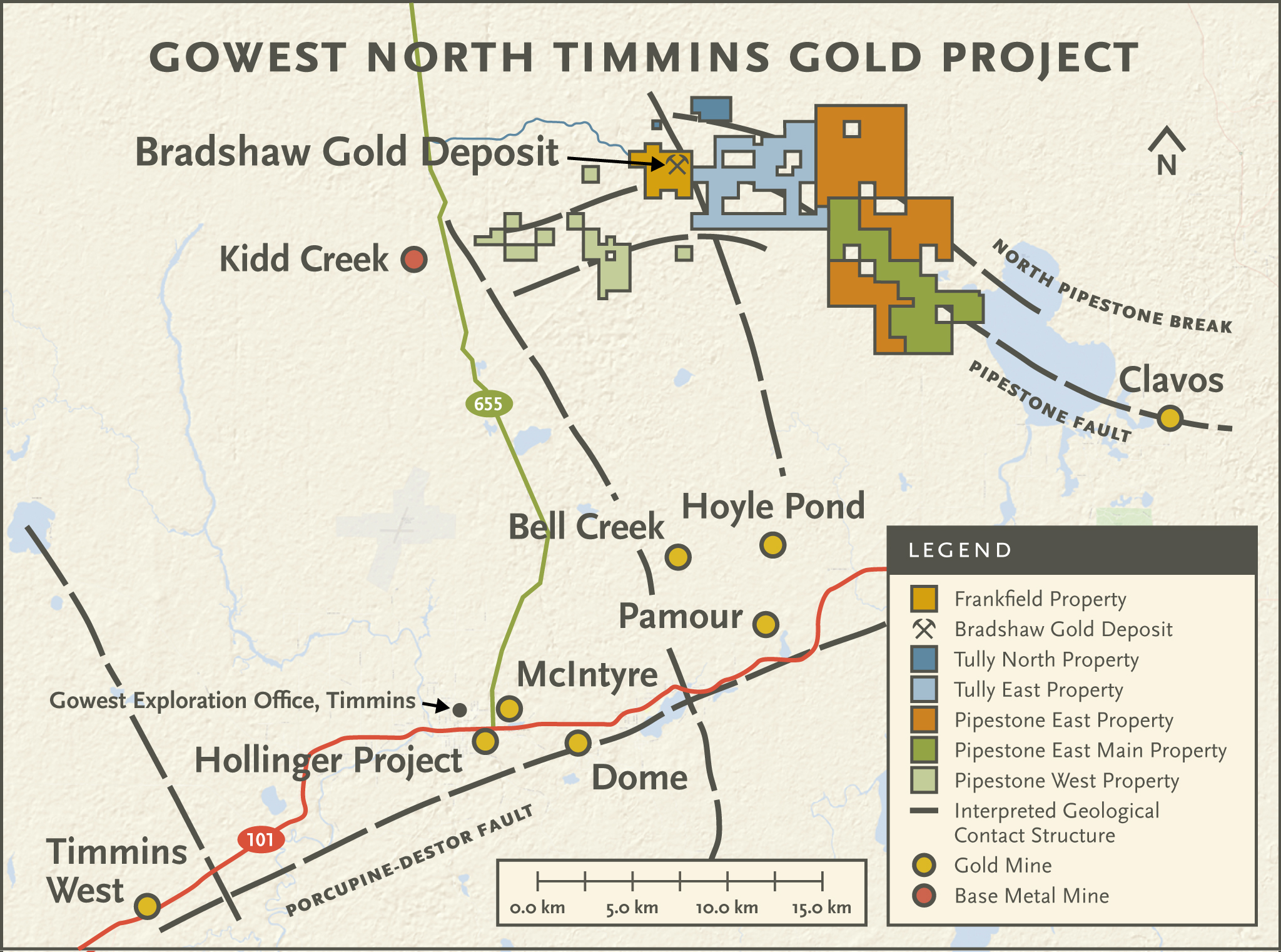 North Timmins Gold Project