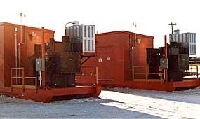 Mine Power Substation