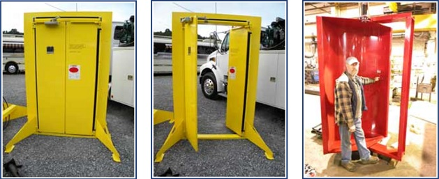 American Mine Door also manufactures 3 styles of standalone personnel doors. These include the opposing swing man door the concave man door ... & American Mine Door\u0027s November 2013 e-NEWSLETTER Pezcame.Com
